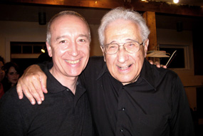 Jean-Michel and pianist Peter Frankl